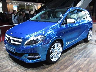 Mercedes-Benz B-Class Electric Drive front quarter