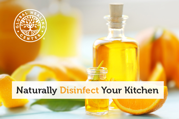naturally disinfect your kitchen